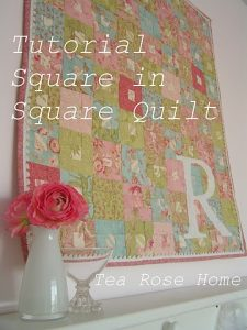Guest post- Square in square quilt