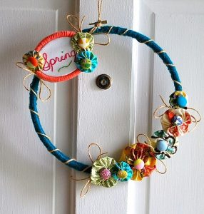 embroidery+hoop+wreath