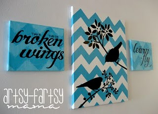 Blackbird canvas art