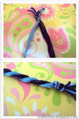 make yarn flowers