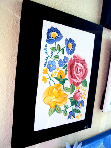 acrylic-paints-flowers-roses