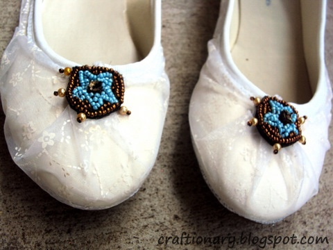 lace flat shoes