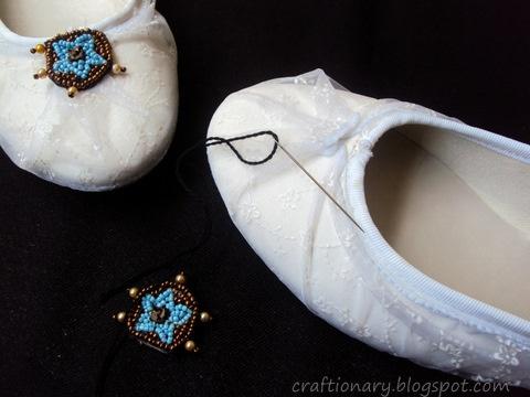 lace shoe refashion