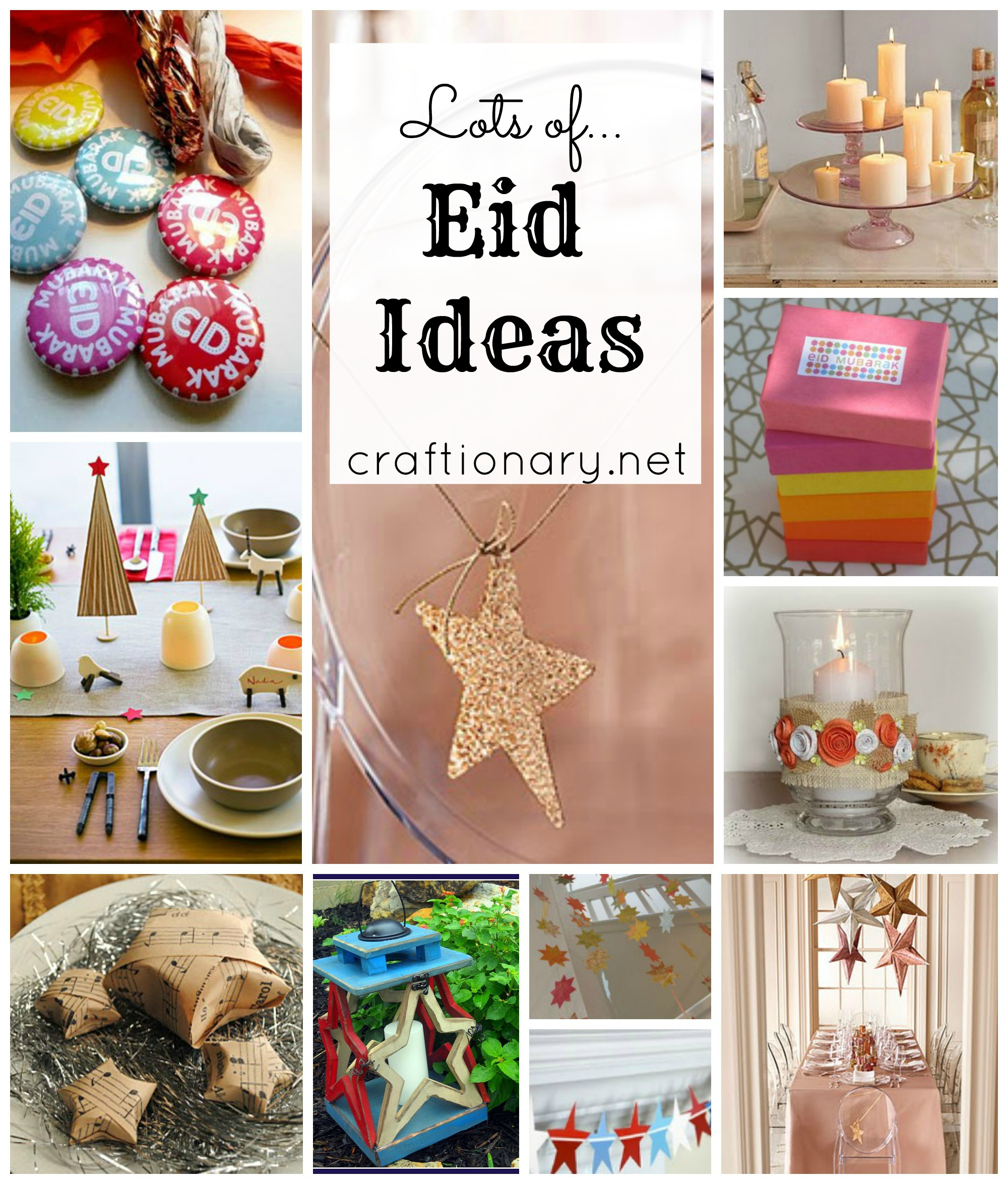 Eid decorations craft ideas