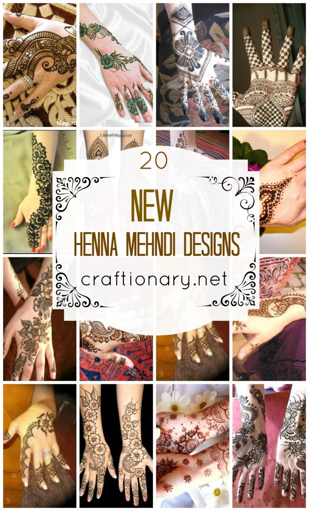 new henna mehndi designs