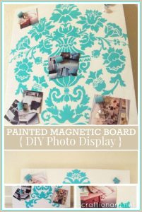Painted Magnetic Board- (Easy tutorial)
