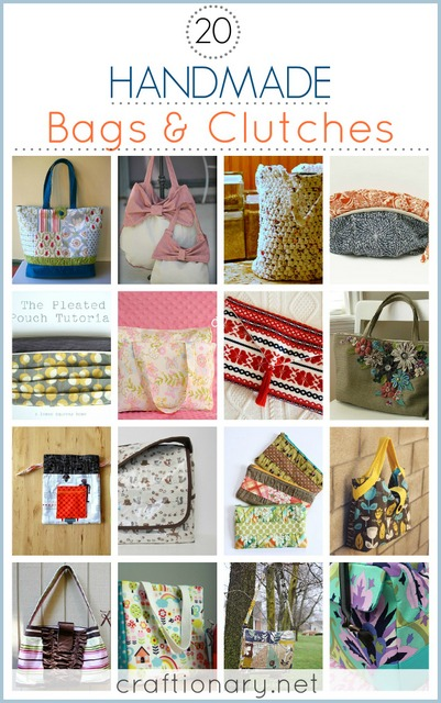 handmade bags and purses