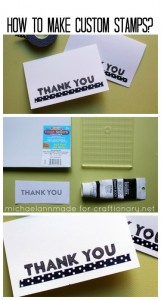 Guest Post- Make Handmade Stamps (tutorial)