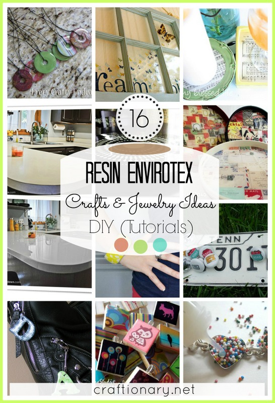 resin envirotex diy craft