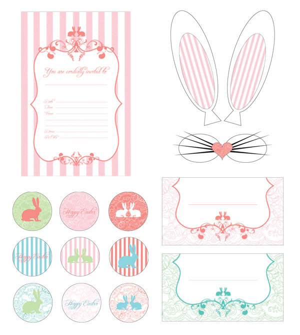 image about Happy Easter Sign Printable identified as Craftionary