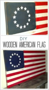 Painted Wooden American Flag- Tutorial (Guest Post)