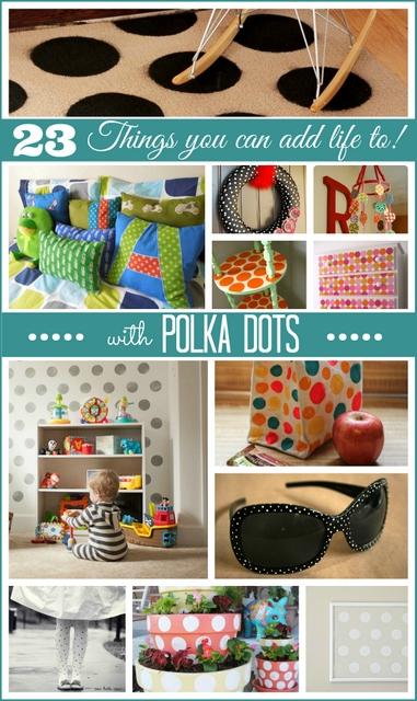 DIY polka dots dots projects