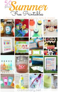 50 Summer Free Printables