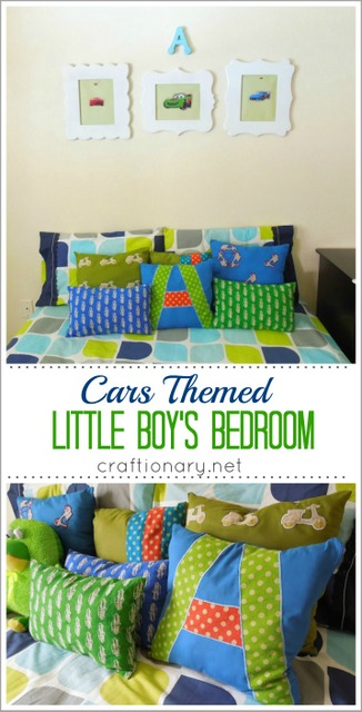 cars themed boys bedroom