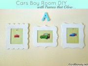 cars themed boys bedroom frames