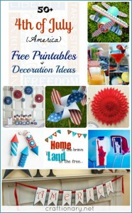 50 Independence Day (July 4th Free Printables)