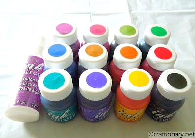ink effects fabric transfer paints