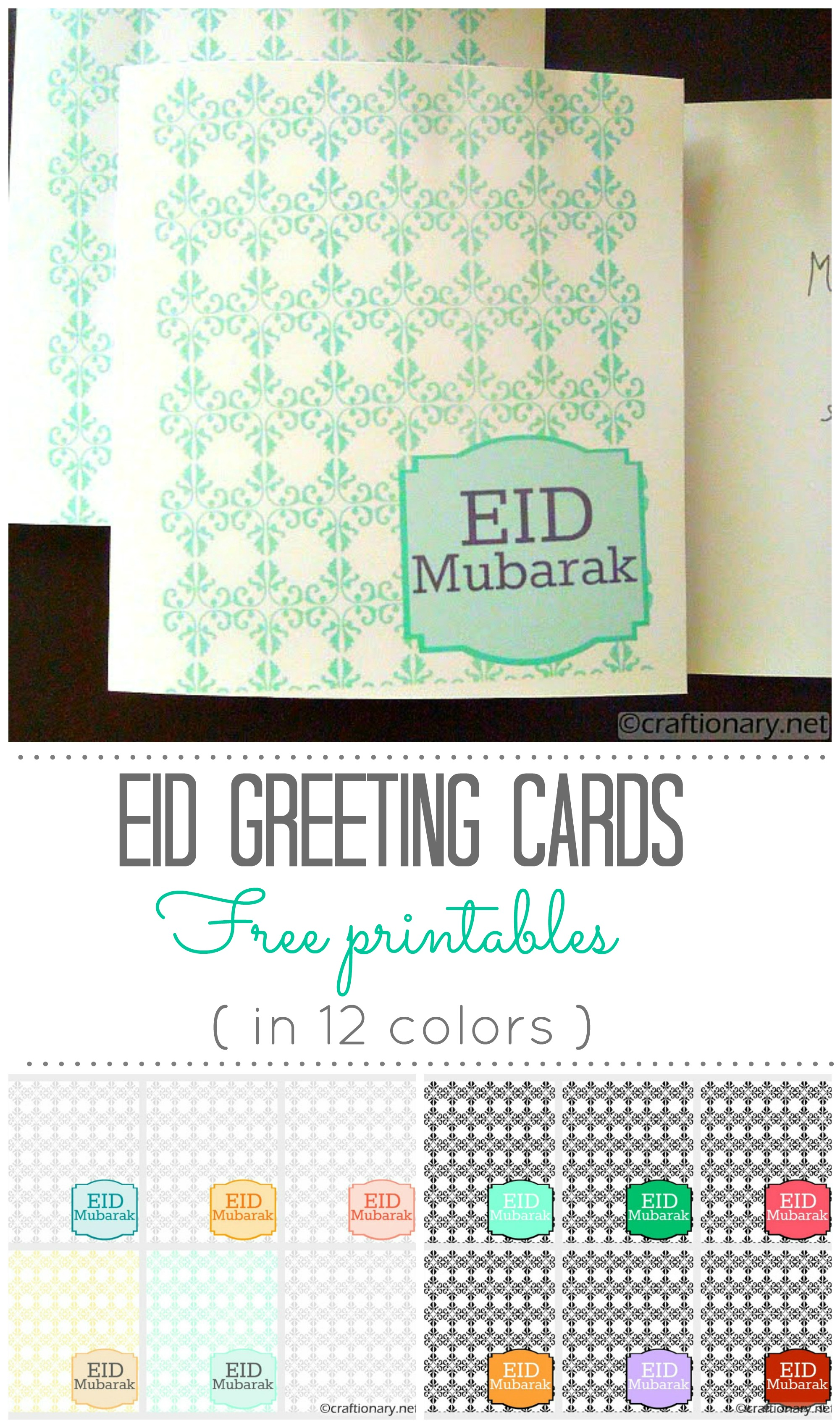 picture about Ramadan Cards Printable named Ramadan Mubarak Printable Playing cards - Rasmi W