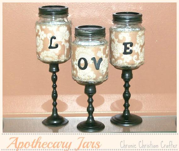 Craftionary for Mason jar candle crafts