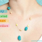 clay-faceted-beads-necklace