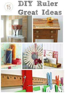 DIY Yardstick Crafts