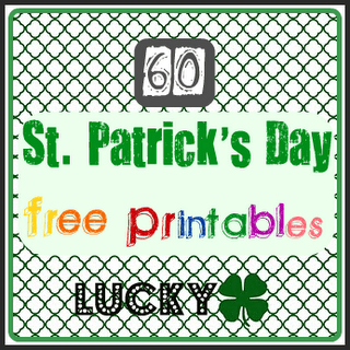 It is a photo of Insane St Patrick Day Free Printables