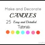 how-to-make-decorate-candles-easy-ideas