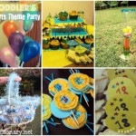 Sports theme toddler party