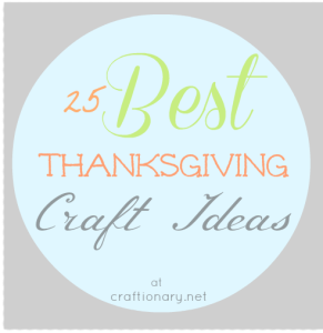 best thanksgiving craft ideas