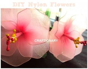 Make Stocking Flowers (Girly tutorial)