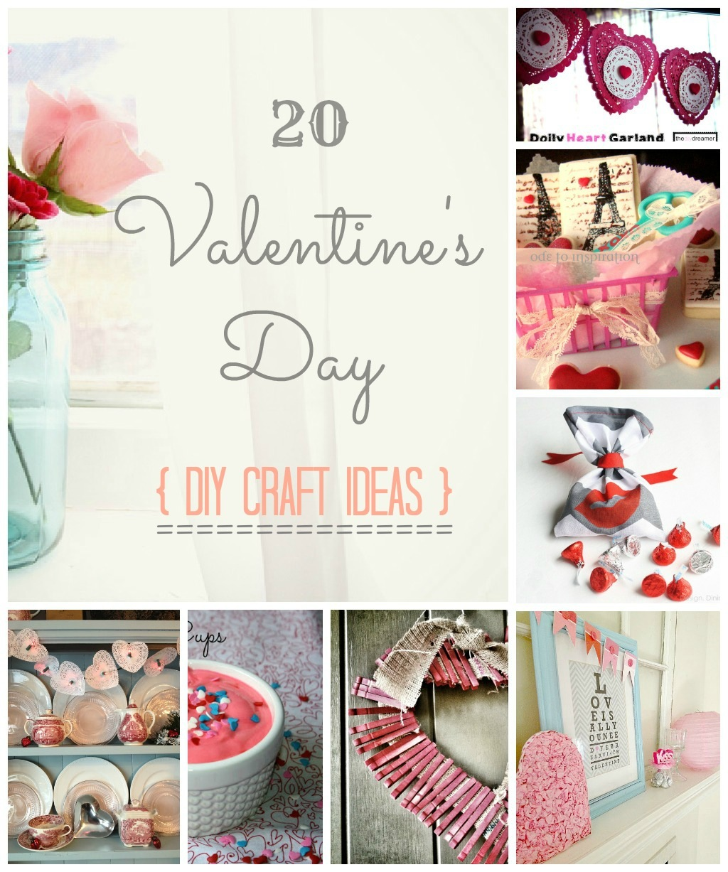 Craftionary for Crafts for valentines day ideas