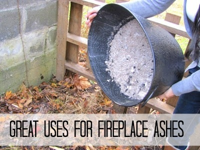 uses for fireplace ashes