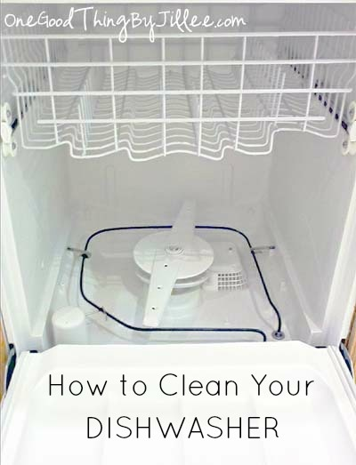 great detailed article to help you clean your dishwasher.