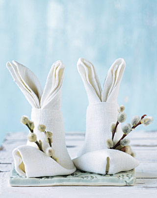 make bunny decoration