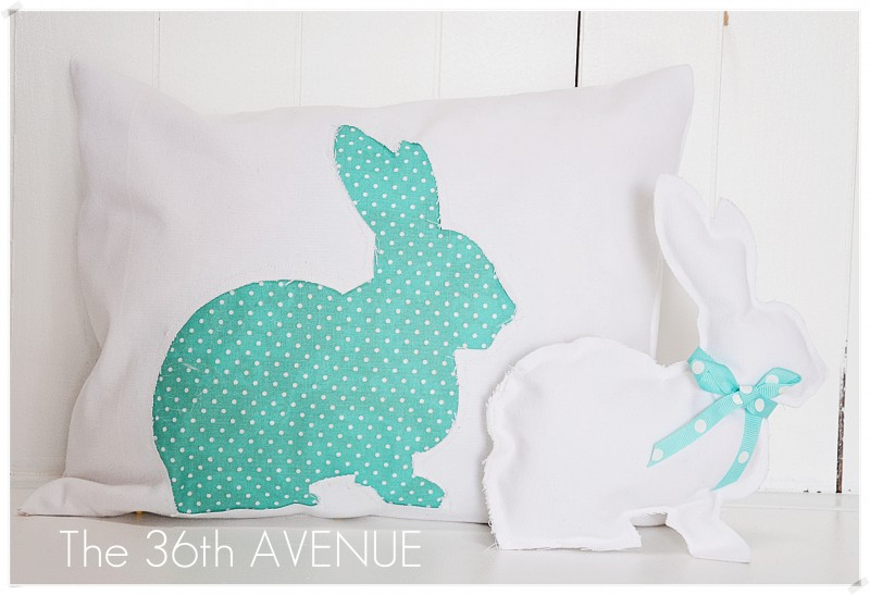 Craftionary easter bunny pillow negle Gallery