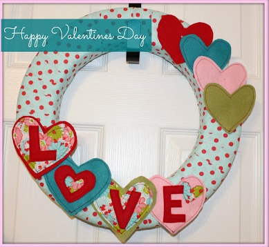 hearts wreath