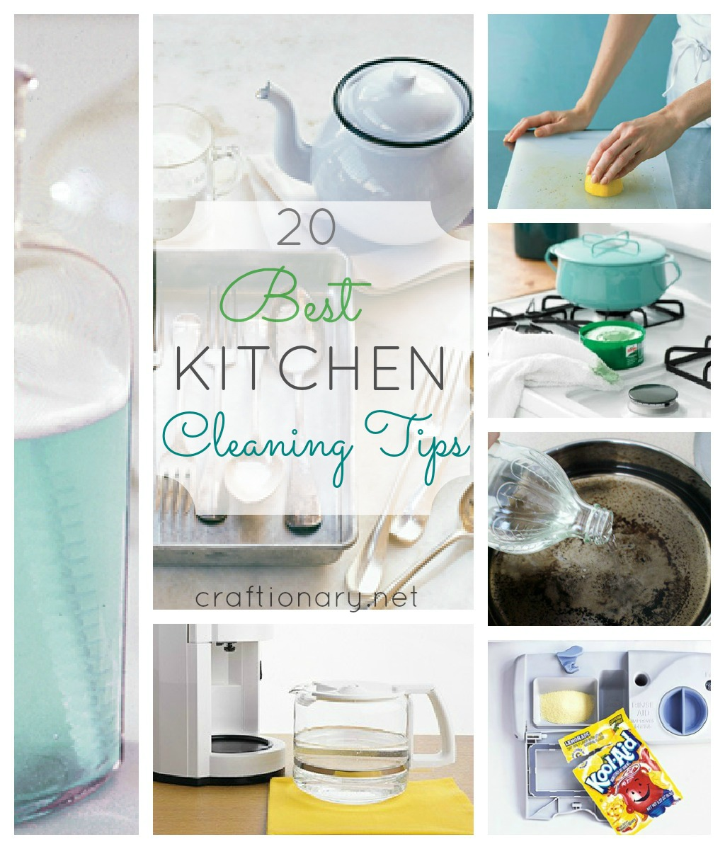 Easy And Quick Ways To Clean Your Kitchen.