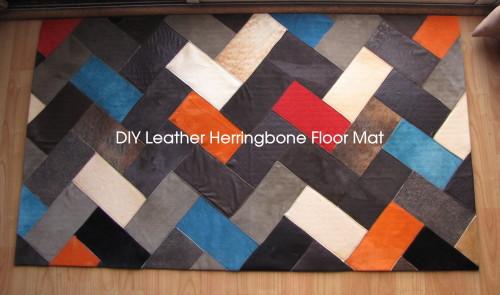 make leather mat