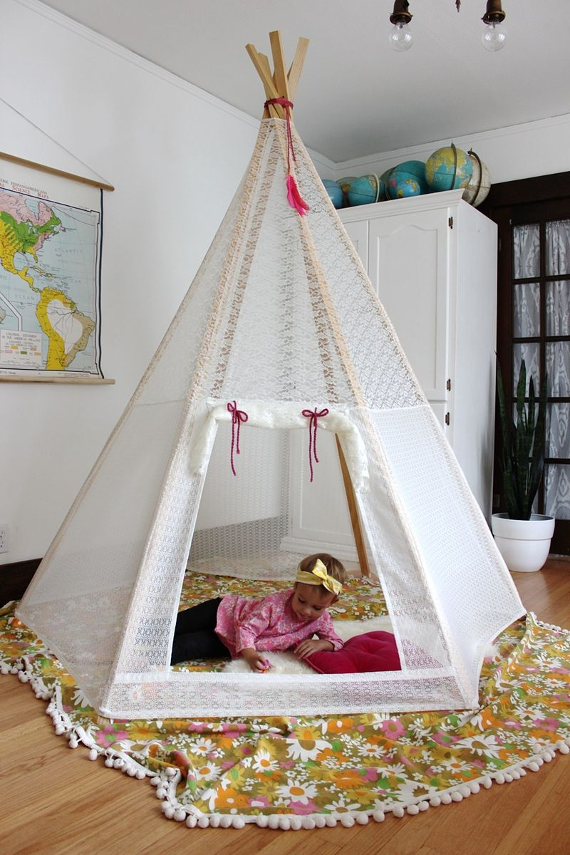 How To Make A Tent Craftionary