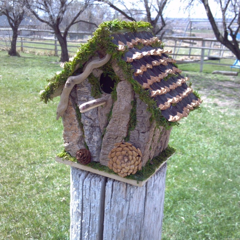 Craftionary - Houses made from natural materials ...