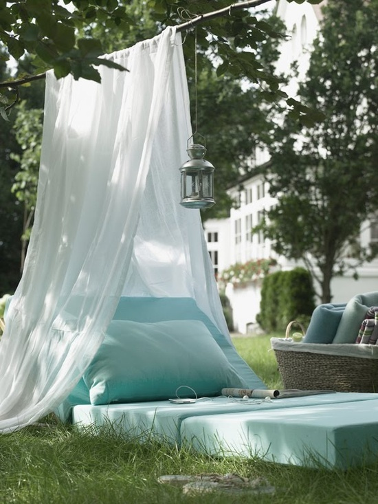 Backyard Canopy Diy : 15 Ways to make tent (DIY tent)