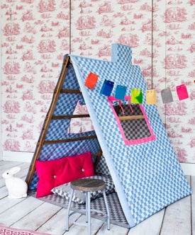Turn a clotheshorse (clothes rack) into DIY tent.  sc 1 st  Craftionary & Craftionary