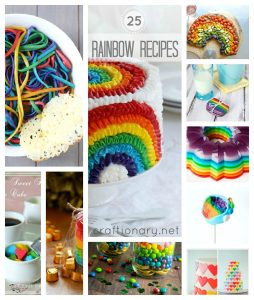 25 Rainbow food recipes for St Patricks