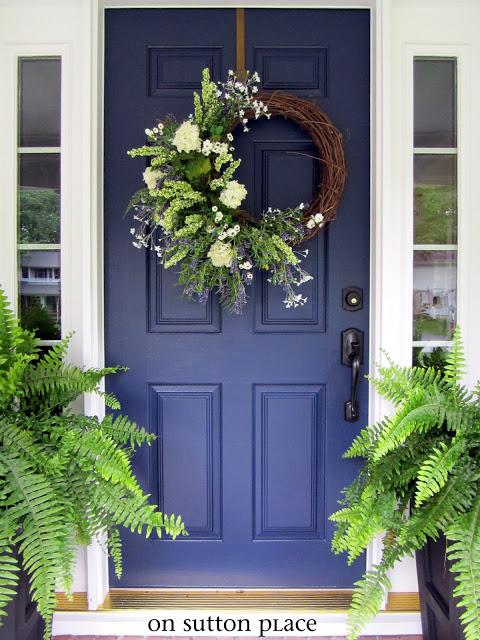 spring front door wreathsCraftionary