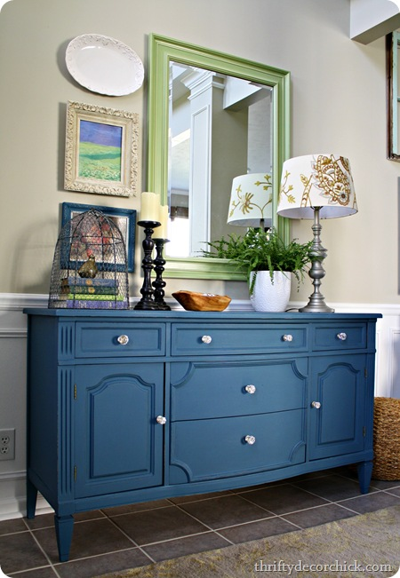 painted green furniture painted royal blue painted furniture to