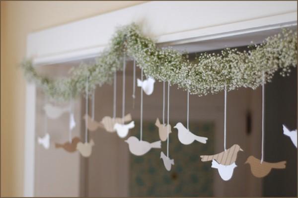 birds garland
