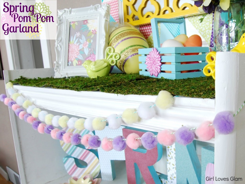 bunny tail easy garland