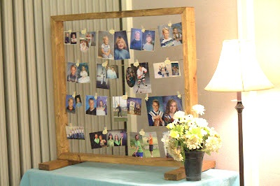 diy photo display frame