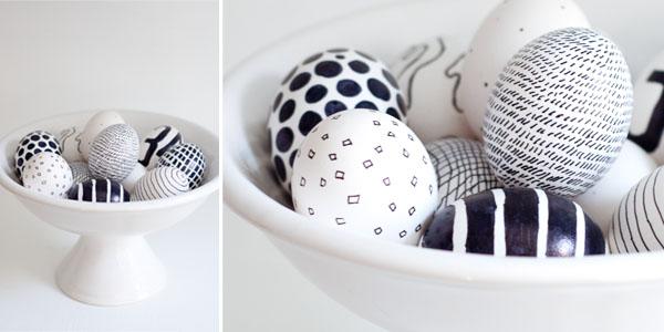 make handmade Easter eggs