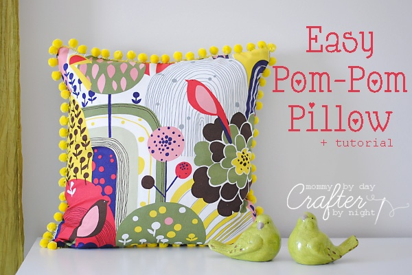 easy fabric pillow tutorials